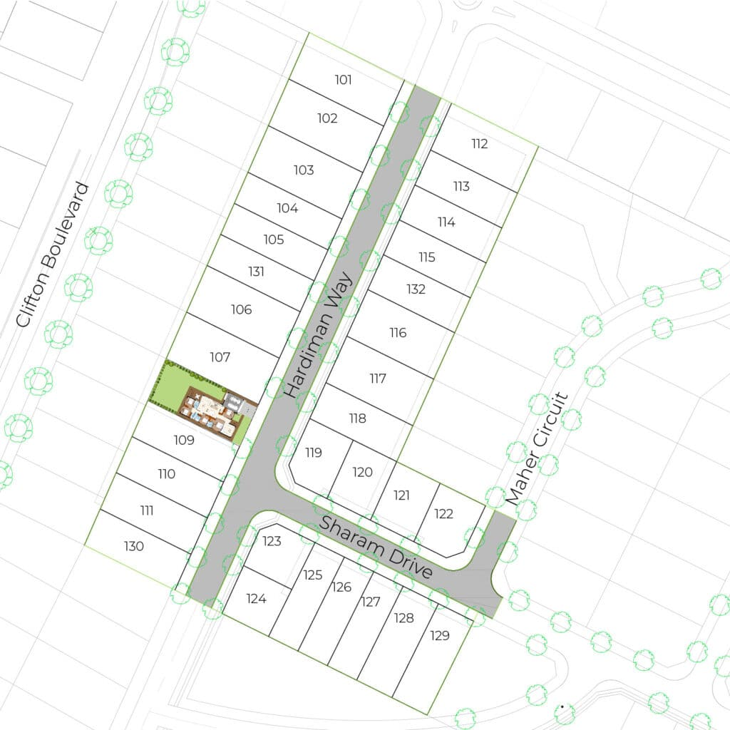 Lot 108 Clifton Gardens Stage - Griffith Real Estate Agents - JZ Homes