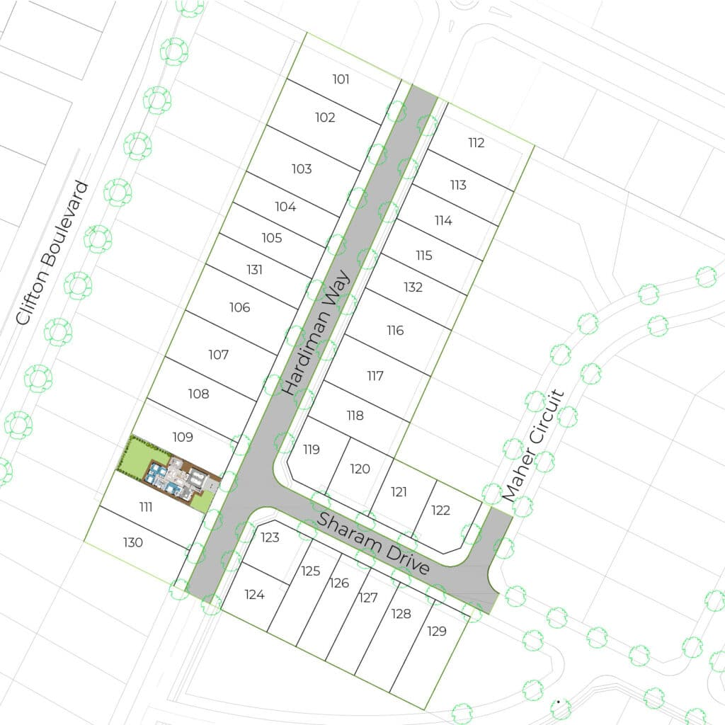 Lot 110 Clifton Gardens Stage - Griffith Real Estate Agents - JZ Homes